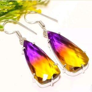 💥Reduced💥Ametrine silver earrings